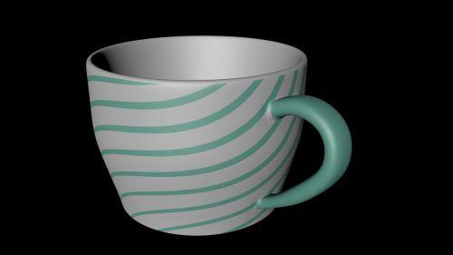 cup no light 3d cgi