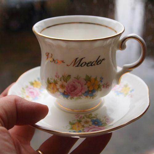 cup of cup and saucer porcelain