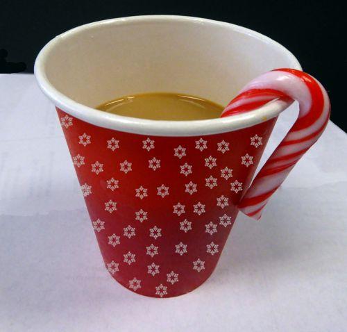Cup Of Christmas Coffee