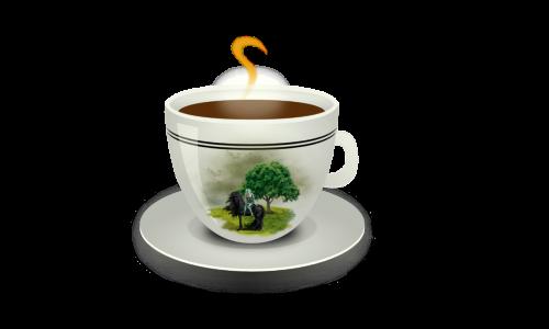cup of coffee caffeine breakfast