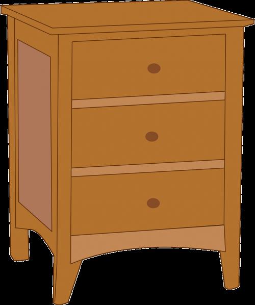 cupboard bedroom brown