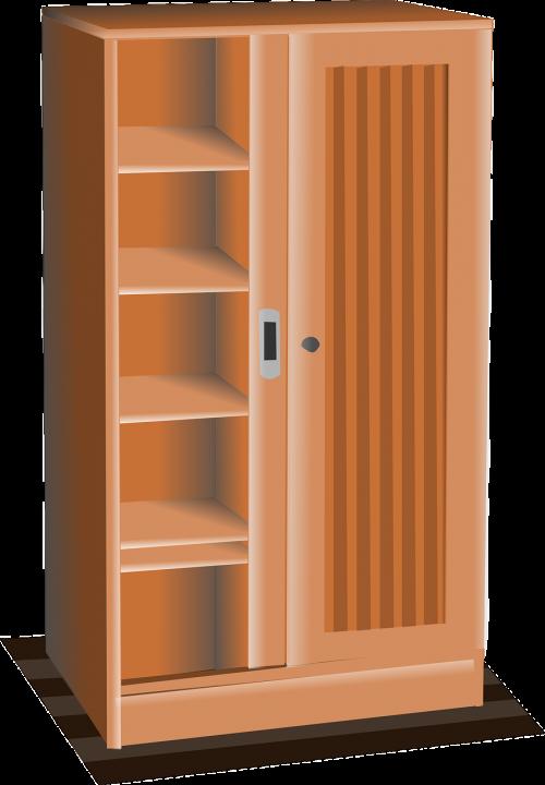 cupboard furniture wood