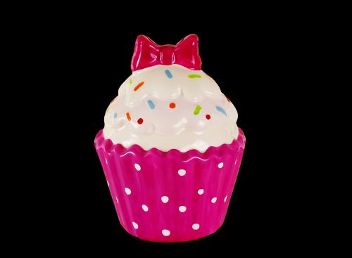 cupcake ceramic colorful
