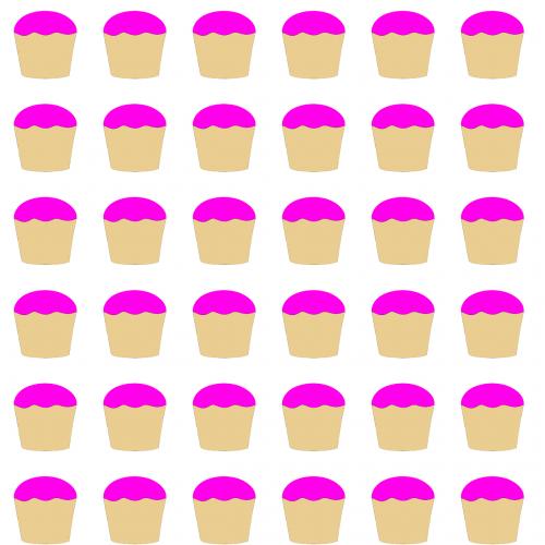 cupcake pink sweet