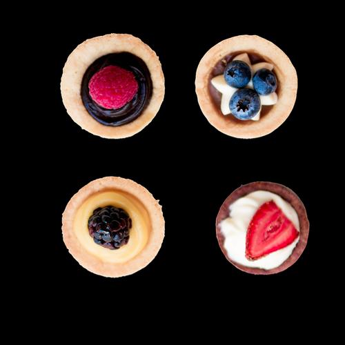 cupcakes  mini cheesecake  strawberry