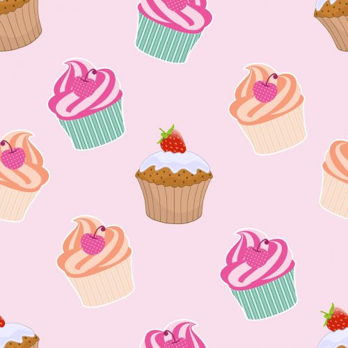 Cupcakes And Muffins Wallpaper