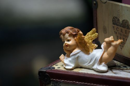 cupid doll art