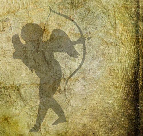 Cupid With Bow & Arrow