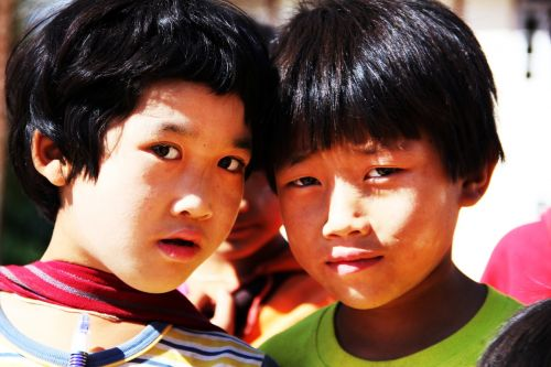 curiosity children look