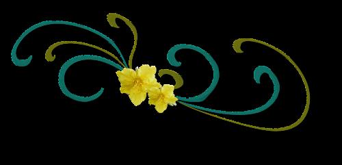 curl ornamental flower