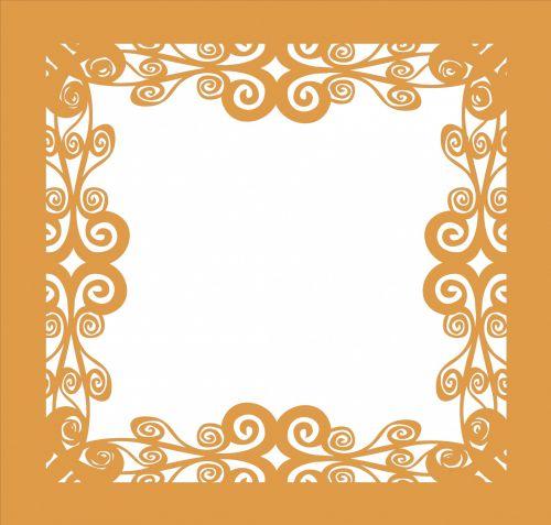 rėmas, renesansas, auksas, garbanotas, izoliuotas, balta, fonas, auksinis, garbanotas rėmas 5
