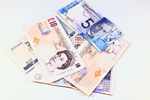 currency euro banknotes money