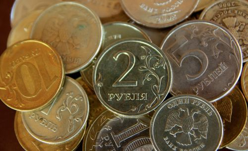 currency rubles russia