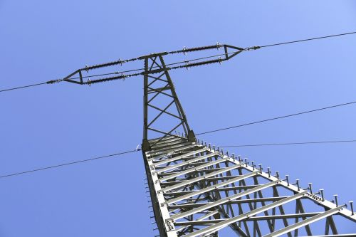 current power poles electricity
