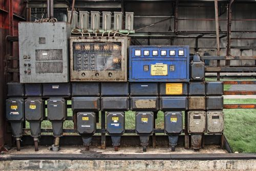 current power boxes old