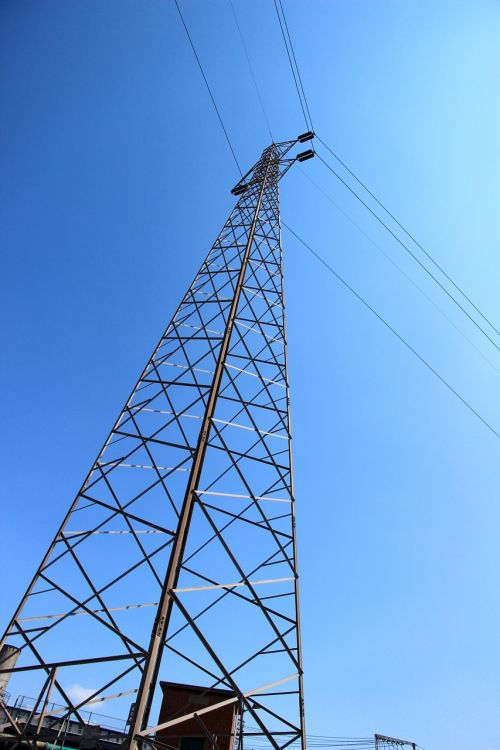 current masts power line