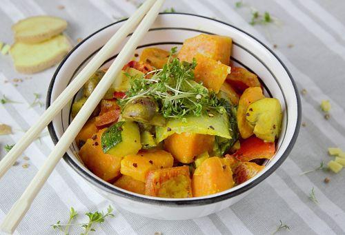curry vegetables vegetarian