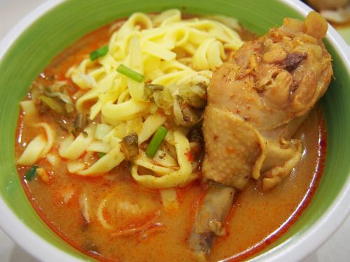curry ข้าวซอย noodle