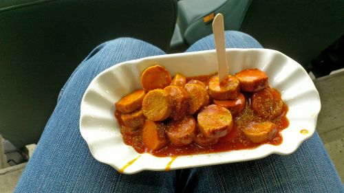 currywurst snack break