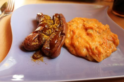 currywurst bart sausage curry