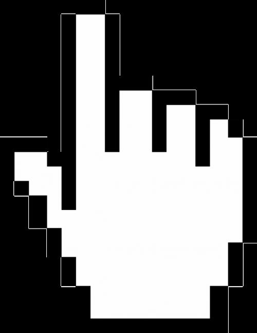 cursor finger hand