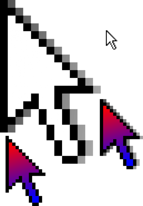 cursor arrow pointer