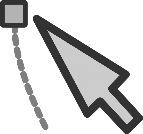 cursor mouse point