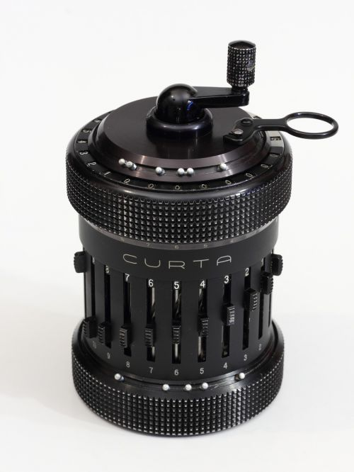 curta mechanical calculator
