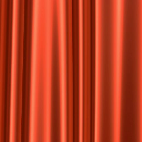 curtain fabric red