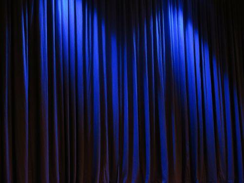 curtain theater velvet