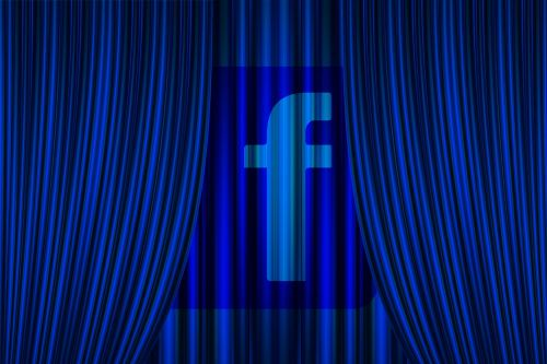 curtain facebook concept