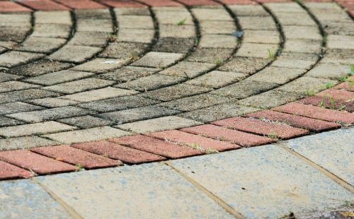 Curved Paving