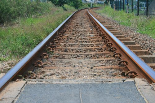Curving Train Tracks