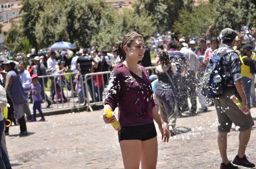 cusco carnivals cusco festival carnival in peru