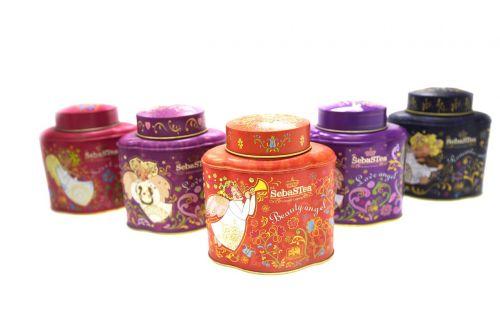 custom tea tins coffee tins metal containers