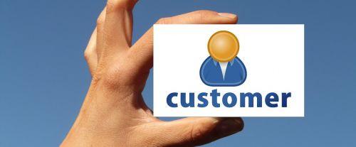 customer map hand