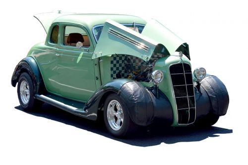 customized car hot rod vintage
