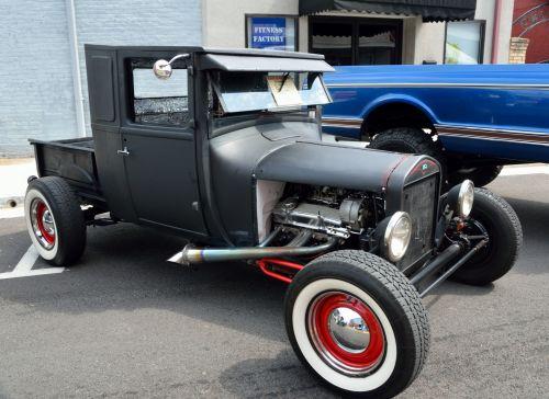 Customized Hot Rod Car