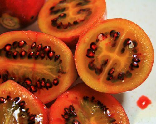 Cut Tree Tomato Fruit