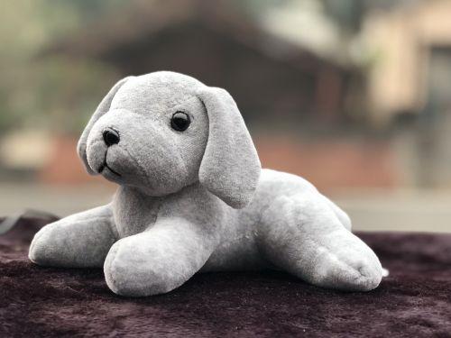 cute toys gray