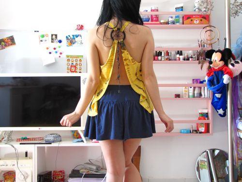 cute girl skirt