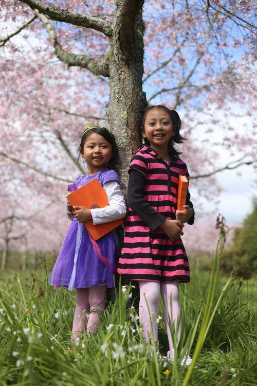 cute little girl smart student smart little girl