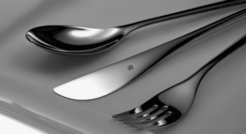cutlery chrome plated knife