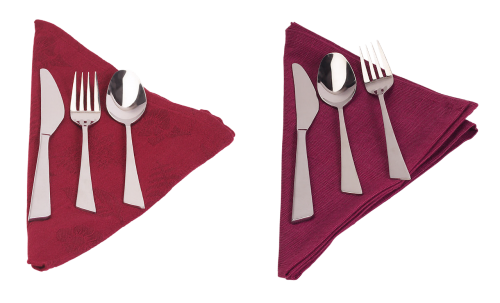 cutlery laying napkin