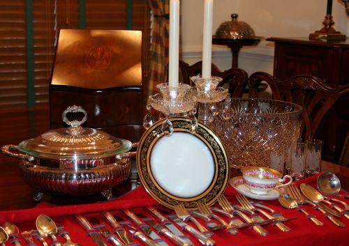 cutlery crockery china