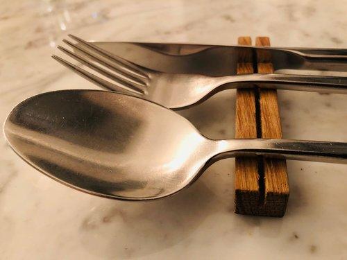 cutlery  spoon  fork