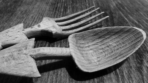 cutlery wooden cutlery spoon