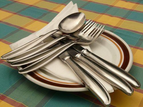 cutlery knife fork