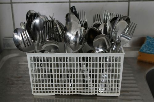 cutlery basket cutlery fork