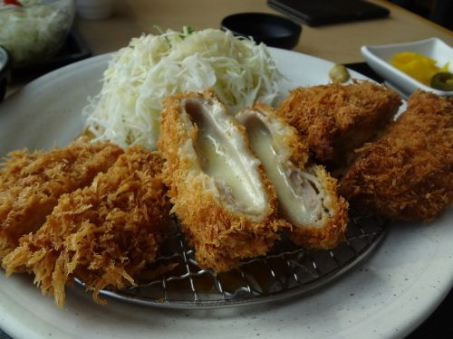 cutlet cheese cutlet dining